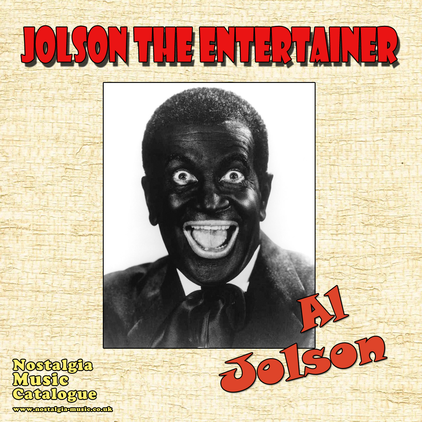al jolson the entertainer pop nostalgia music catalogue old songs